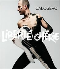Calogero - Liberté Chérie - New Book CD Album