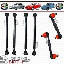 KIT BRACCI E BIELLETTE POSTERIORI BIRTH ITALIA 6 PEZZI ALFA ROMEO 147 156 GT