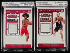 Coby White Tyler Herro 2019 Rookie Jersey Patch Contenders Php 2,500 for Both