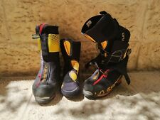 La Sportiva G2 SM, men warm super lightweight, mountaineering double-boot, used