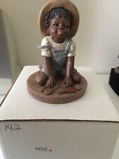 "New ListingAll God'S Children, Miss Martha Originals Figurine ""Tess"" Edition #142 Signed"