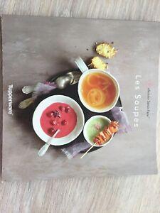 """TUPPERWARE Livre de recettes  """"Les Soupes"""""""