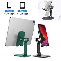 Adjustable Universal Cell Phone Tablet Desk Stand Foldable Desktop Mount Holder