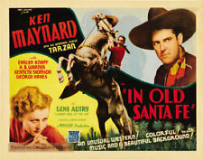 Super 8mm sound 4X400 IN OLD SANTE FE. Ken Maynard 1934 western.