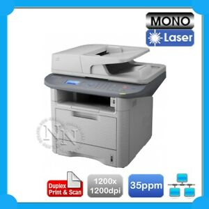 Samsung SCX-5637FR Network MFP Laser Printer+Duplex Scan /w MLT-D205S Toner Inc.