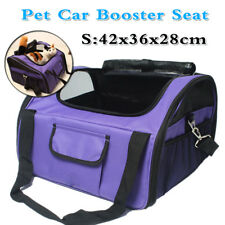 Portable Pet Carrier Dog Cat Car Booster Seat Soft Cage Travel Bag Breathable AU