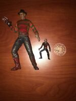 Freddy Krueger Action Figure And Accessories Lot.