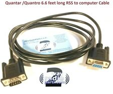 Motorola Quantar Quantro Repeater Serial port Programming Cable (vhf uhf 800)