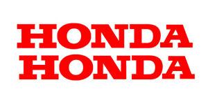 Qty 2 x 200mm HONDA Sticker Decals Car Ute