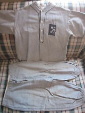 "1910's original ""EMS"" baseball jersey and pants Mitchell & Ness Karl Rugart"