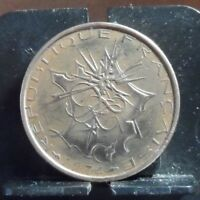 CIRCULATED 1974 10 FRANCS FRENCH COIN(121418)....FREE DOMESTIC SHIPPING !!