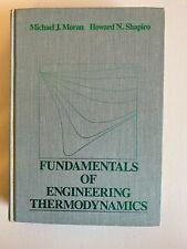 Fundamentals of Engineering Thermodynamics Michael J. Moran; Howard N. Shapiro