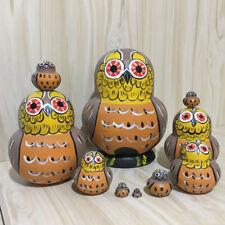 bambole di legno nidificazione di legno babushka matrioska giocattoli # 6