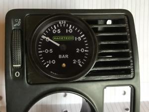 """VW Golf Bora MKIV MK4 VENTED Driver Window Vent Gauge Mount Pod Boost 52mm 2"""""""