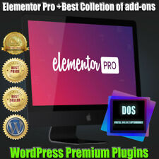 Elementor PRO plugin Wordpress + add-ons collection-updated version.