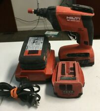Hilti Sd 4500 A22 Drywall Screwdriver Screwgun With 2 Batteries And Charger