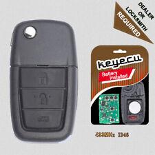 Remote Key Fob 433MHz ID46 for Pontiac G8 2008-2009 / Chevrolet Caprice 2011-13