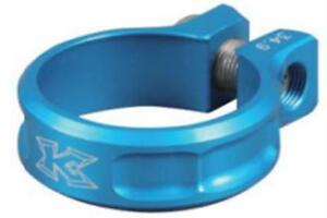 KCNC SC11 Screw Seatpost Clamp Blue 31.8mm