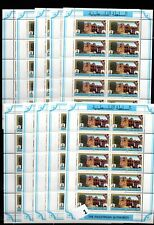 / 10X PALESTINE - MNH - ARCHITECTURE - NEW CURRENCY - 100 STAMPS - WHOLESALE