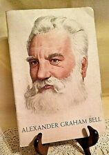 ALEXANDER GRAHAM BELL 100TH ANNIV HIS BIRTH 1847 1947 AT&T TRIBUTE INVENTOR PB.