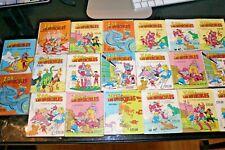 ZOR Y LOS INVENCIBLES Lot of 20 MEXICO COMIC BOOKS 1980s Action Adventure