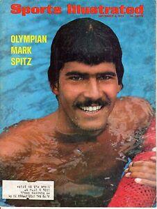 1972 (Sep.4) Sports Illustrated magazine Mark Spitz, Olympic Swimming ~ Good