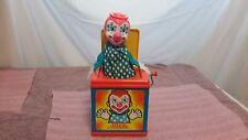 Vintage MATTEL Preschool Jack In The Music Box – No. 0659 Asst# 4738