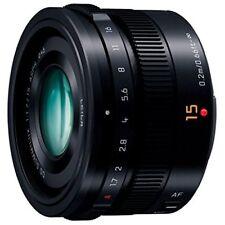 Panasonic LUMIX G LEICA DG SUMMILUX 15mm /F1.7 ASPH. H-X015-K BLACK Japan new .