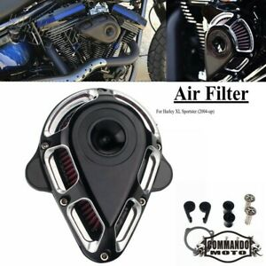 Motorcycle CNC Air Cleaner Intake Filter For Harley XL Sportster (2004-UP) 2021