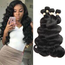8A 400g/4bundles Unprocessed Brazillian Bodywave Human Hair 22,24,26,26