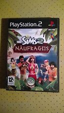 Juego Sony PlayStation 2 PS2 SIMS 2 Naufragos EA Video PAL