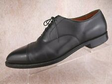 Alden Men's Black Leather Cap Toe Lace Up Dress USA Made Oxfords Shoes 12.5 A/C