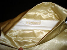LA PERLA Gold Satin Lingerie Bag with Drawstring AUTHENTIC New