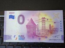 BILLET EURO SOUVENIR 2021-1 BREST ANNIVERSAIRE