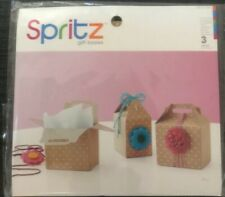 18pc Spritz Gift Boxes Blue, Pink, Polka Dot (5.1�x2.5�x4�)6 New 3-count Pkgs
