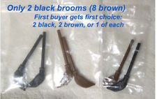 4 LEGO® Bricks & FREE 2 CUSTOMmade QUIDDITCH BROOMS 5pair avail /2 black 8 brown