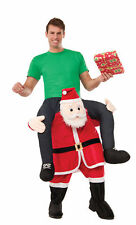 Funny Special Delivery From Santa Adult Men Women Costume Christmas Ride On A