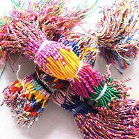 20/50/80 Wholesale Jewelry Lot Braid Strands Friendship Cords Handmade Bracelet