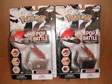 Pokemon Pop n' Battle Launcher Lot of 2 - Scraggy, Minccino NEW