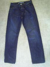 Gap Hombre Jeans Mezclilla Azul Cremallera Fly Corte Recto 100% Cotton Talla