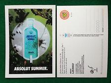 Pubblicità Advertising Cartolina vodka Italy ABSOLUT SUMMER 98/2359