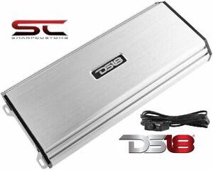 DS18 S-1500.1/SL Car Audio Amplifier Full Range, Class AB, 1 Channel 1500 Watts