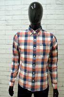 Camicia HOLLISTER Uomo Taglia S Maglia Chemise Shirt Man Cotone Regular