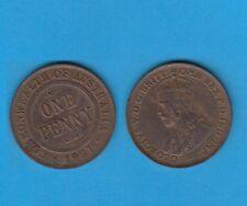 § Australie  Australia  Bronze Coin Georges V One  Penny Bronze 1921