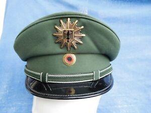 Bundespolizei - Schirmmütze - m. Dienst - alte Uniform (nach 1992) - grün