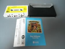 MC DON WILLIAMS - SUPERHITS abc Musikkassette Kassette Tape RAR