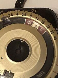 Vintage GE Golden Crown Exposure Meter Type PR-3 w/ Case