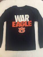 Auburn Tigers War Eagle Navy Long Sleeve T-Shirt Sz S/CH. 34/36