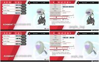 Pokemon Sword Shield shiny 6iv Arctovish Dracovish battle ready ev trained!