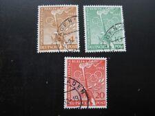 BERLIN GERMANY Mi. #88-90 scarce used stamp set! CV $55.00